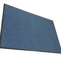 Miracle Mat Magic Carpet Door Mat Regular Blue Walmart Com