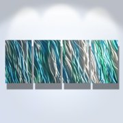Amazon- Metal Wall Art Abstract Sculpture Painting Modern Decor by Miles Shay