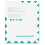 Double Window Tax Organizer Mailing Envelope, Peel and Seal