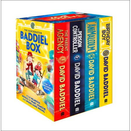 Controller Retail Box (The Blockbuster Baddiel Box (The Person Controller, The Parent Agency, AniMalcolm, Birthday)