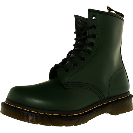 Dr. Martens Women's 1460 Green Mid-Calf Leather Boot - 7M for $<!---->