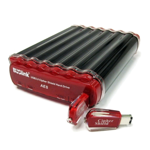 Buslink Ciphershield Hard Drive With Hardware Encryption - 2tb - Usb - Serial Ata - External (csc2tu3)