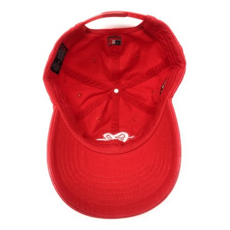 "FUBU ""FB"" Logo 25th Anniversary Dad Red Snapback Hat - image 3 of 5 ... f6f22a96f70"