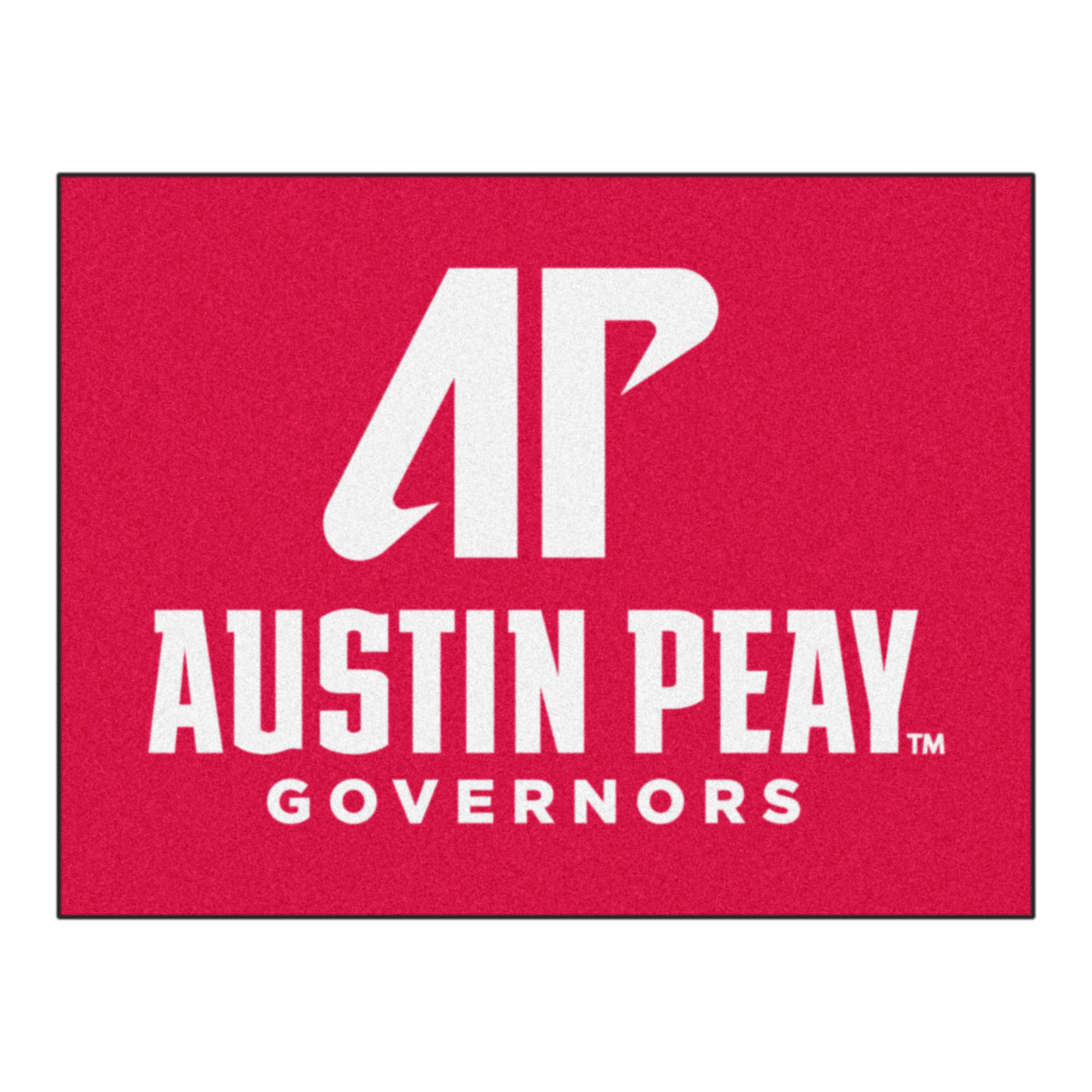 300 Fanmats College NCAA Austin Peay State University 33.75 Inch x 42.5 Inch Nylon Face durable Non-skid chromojet-printed washable Rectangular All Star Mat