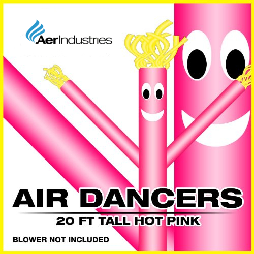 Skyerz 20' ft Blue Sky Wacky Waving Inflatable Advertising Air Dancing Fly Sky Guy Air Puppet Tube Man