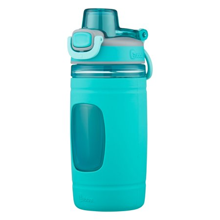 Bubba 16 Ounce Aqua Silicone Refresh Tumbler - Little Big Mouth Bottle