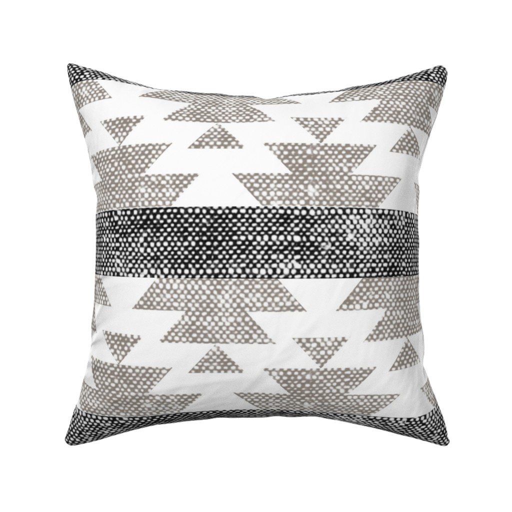 Boho Tribal Southwest Farmhouse Throw Pillow Cover W Optional Insert By Roostery Walmart Com Walmart Com