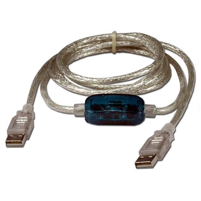 QVS USB-LINK 6 ft. USB to USB File Transfer Cable