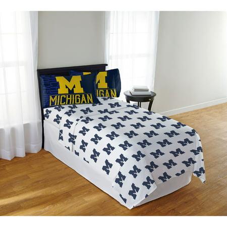 NCAA Michigan Wolverines Affiliation Full Sheet Set, 1 Each
