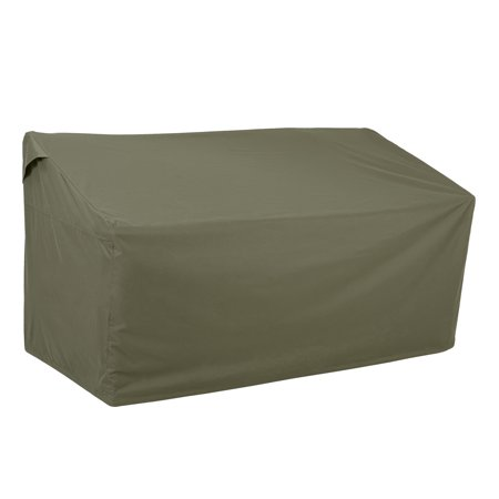 """Better Homes & Gardens Hillberge 64"""" Outdoor Bench Cover in Olive Gray, Medium"""