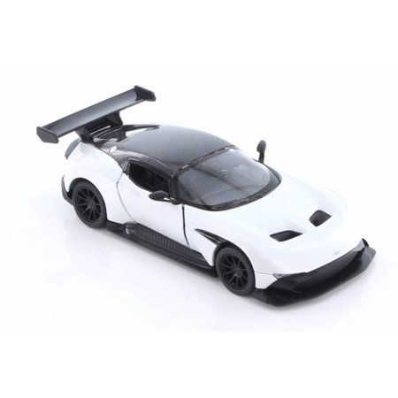 2016 Aston Martin Hard Top, White - Kinsmart 5407D - 1/38 Scale Diecast Model Toy Car (Brand New but NO