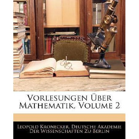 Vorlesungen Ber Mathematik, Volume 2 - image 1 of 1