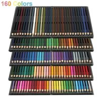 160/72pcs Color Colored Pencils Vibrant Sketch Painting Drawing Pre-sharpened for Art Students Professionals