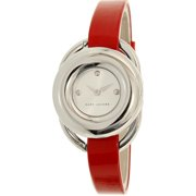 Women's Jerrie MJ1444 Red Leather Quartz Fashion Watch
