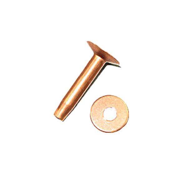 Copper Rivets Burrs 3 4 50 Pack 12 Walmart Com