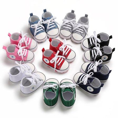 canvas Toddler Newborn Baby Shoes Non-slip Bottom Soled Shoes Keep Warm Comfortable Shoe - image 6 de 6