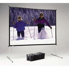 Da-Lite Fast-Fold Deluxe Screen System Complete Screen HDTV Format - projection screen - 118 in ( 300 cm )