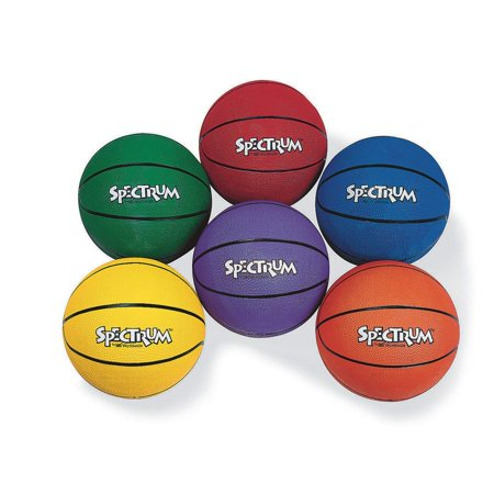 S&S Worldwide Spectrum Rubber Basketball - Official-RED, Our best price ever on premium rubber basketballs. By SS