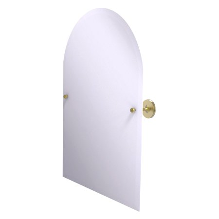Allied Brass Shadwell Frameless Arched Top Tilt Beveled Wall Mirror (Allied Brass Appliance)