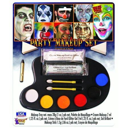 Party Halloween Face Paint Disguise Costume Multi Color Makeup Kit