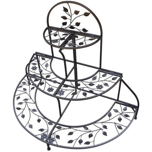 Oakland Living Corporation 3-level Foldable Plant Stand by Overstock