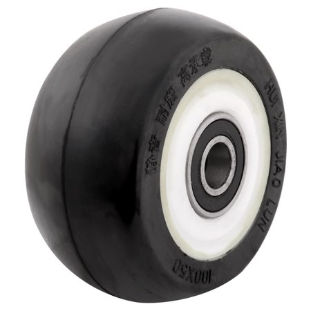 Nylon Replacement Wheels - Factory Nylon Shopping Cart Hand Trolley Replacement Casters Wheel 4 Inch Dia