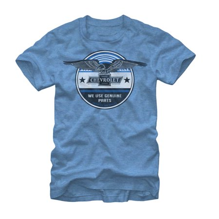 General Motors Chevrolet Genuine Parts Mens Graphic T Shirt