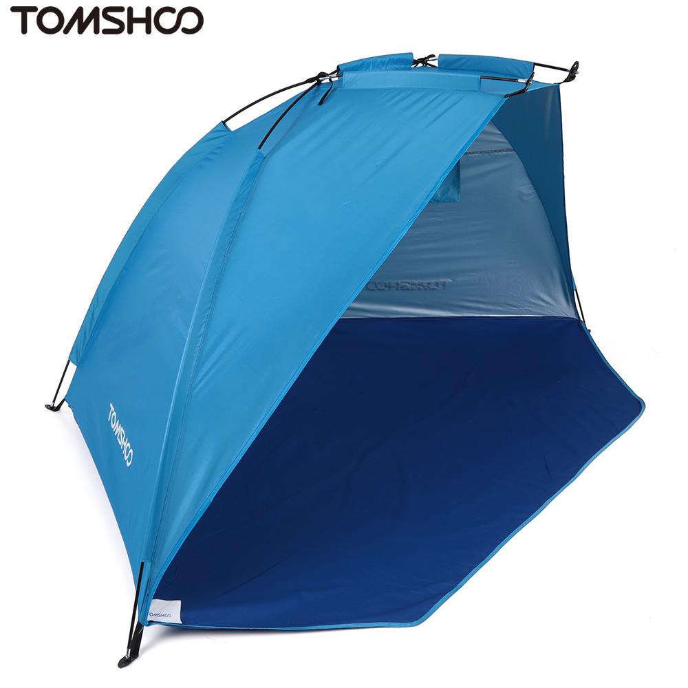 TOMSHOO Outdoor Sports Sunshade Tent Foldable Beach Shelter - Walmart.com  sc 1 st  Walmart & TOMSHOO Outdoor Sports Sunshade Tent Foldable Beach Shelter ...