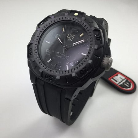 Men's Luminox Sentry Blackout Military Diver's Watch 0201.BO