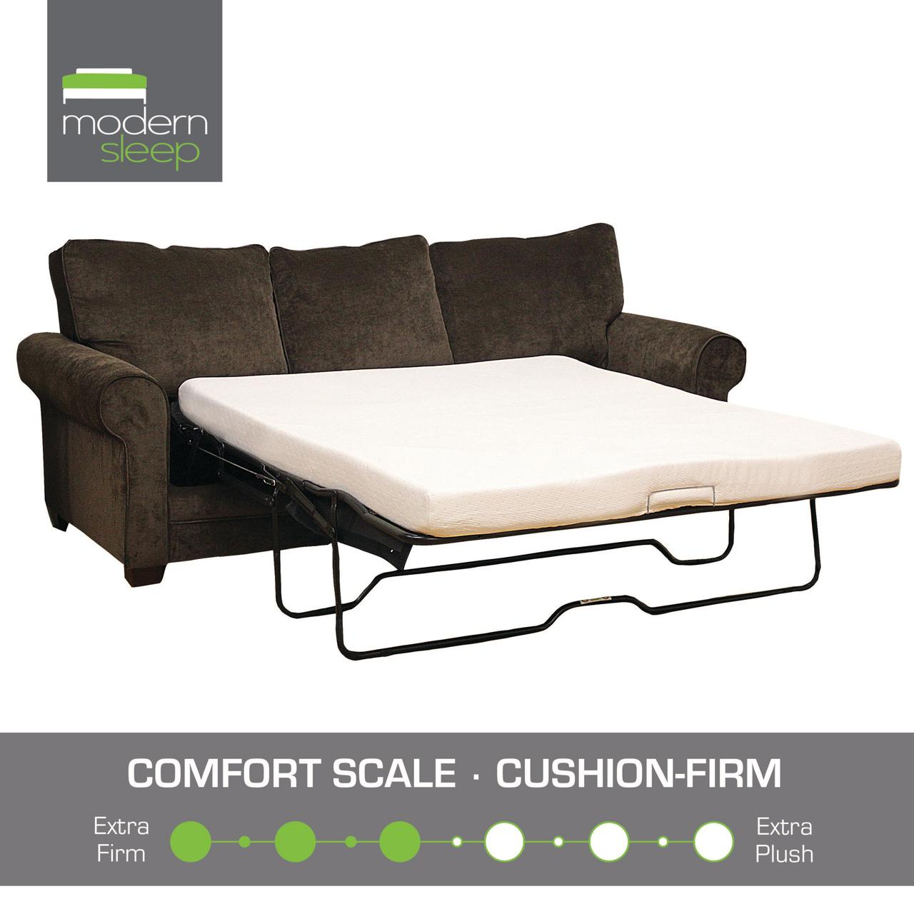 Modern Sleep Memory Foam Replacement Sofa Bed 4.5 Inch Mattress, Multiple  Sizes   Walmart.com