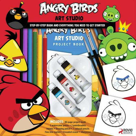 Angry Birds Art Studio - Angry Birds 2-6 Halloween