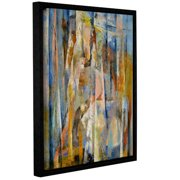 'Wild Horse' Gallery Wrapped Floater-framed Canvas Art Print, 14x18