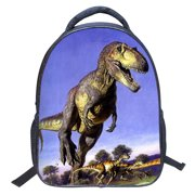 Eleoption 2018 Kids School Backpack 3d Cartoon Print Dinosaur Drawing Schoolbag Children Book Bag For Boys