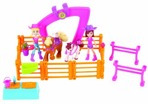 Polly Pocket Horsing Around Doll Set by Mattel by