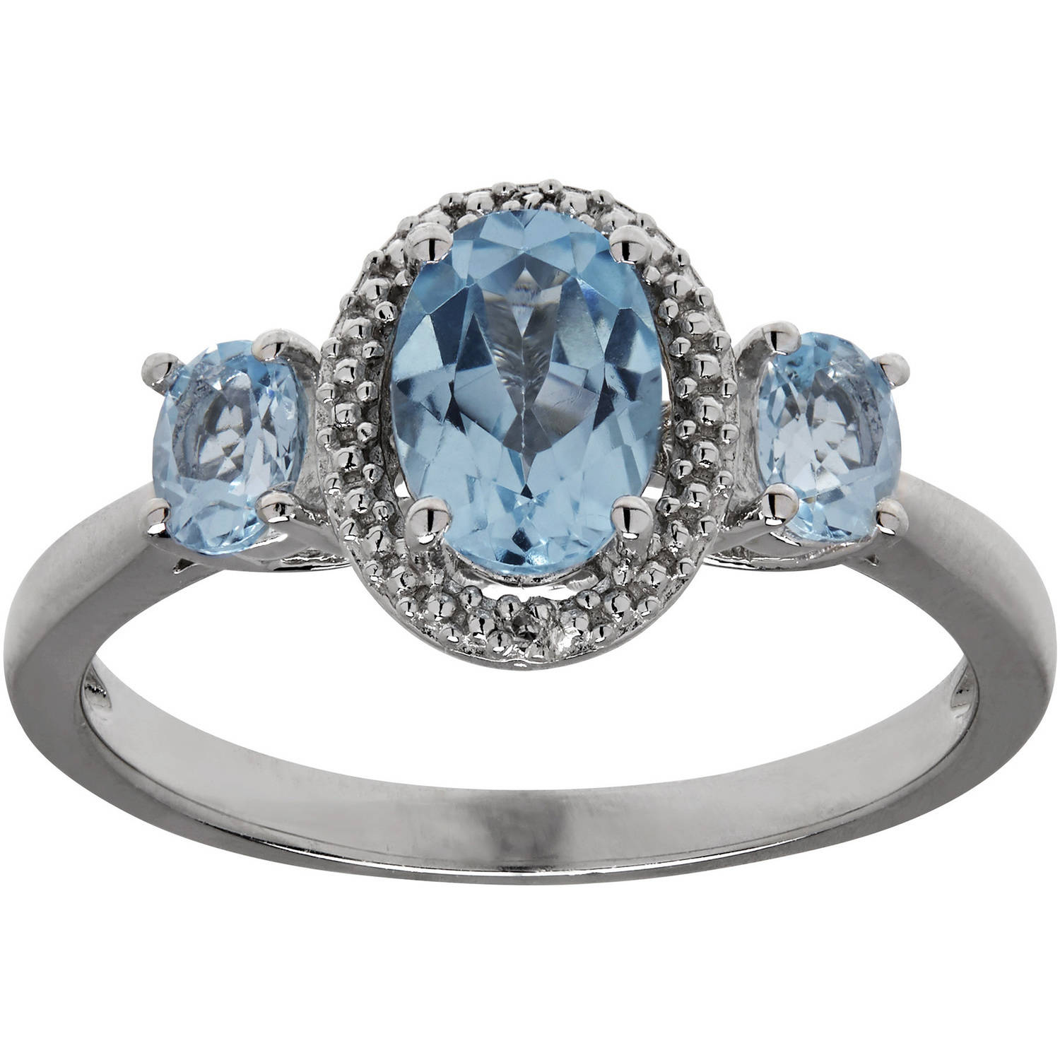 diamond ring campbell specialists oval gold eternity blue products ireland engagement sapphire light cut white