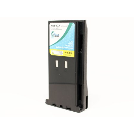 Kenwood KNB-22N Battery - Replacement for Kenwood KNB-17A Two-Way Radio Battery (1800mAh, 7.2V, NIMH) - image 2 of 4