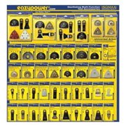 Oscillating Tool Accessories, Eazypower, 50608-1