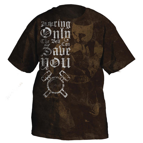 "Ringside ""Only the Bell Can Save You"" T-Shirt, XXL"
