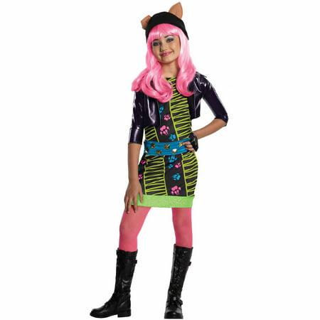 Monster High Howleen Child Halloween Costume - Monster High Frankie Costume