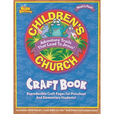 Childern's Church Craft Book : Reproducible Craft Pages for Preschool and Elementary Students!