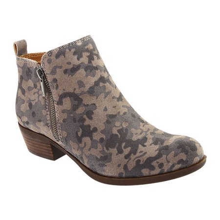 Women's Lucky Brand Basel Bootie Camouflage Womens Boots