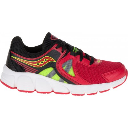 Youth's Saucony Kotaro 3 Sneaker (Little Kid/Big Kid) SY55526 Red/Black/Citron ()