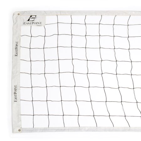 EastPoint Sports Official Size Replacement Volleyball Net - Poles Not Included