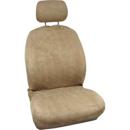 bell quilted suede seat cover tan. Black Bedroom Furniture Sets. Home Design Ideas