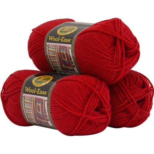 Lion Brand Yarn Wool Ease 3-Pack Classic Yarn Wool Yarn