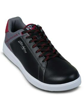 2089b153e Product Image KR Strikeforce Mens Atlas Bowling Shoes- Black Gray Red 8