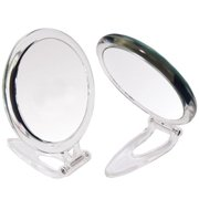 Rucci M801 7x and 1x Magnification Round Acrylic Mirror with Pouch