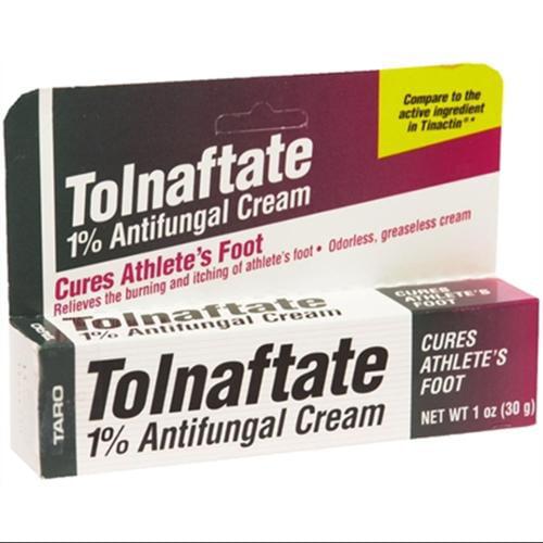 Taro Tolnaftate 1% Antifungal Cream 1 oz (Pack of 2)