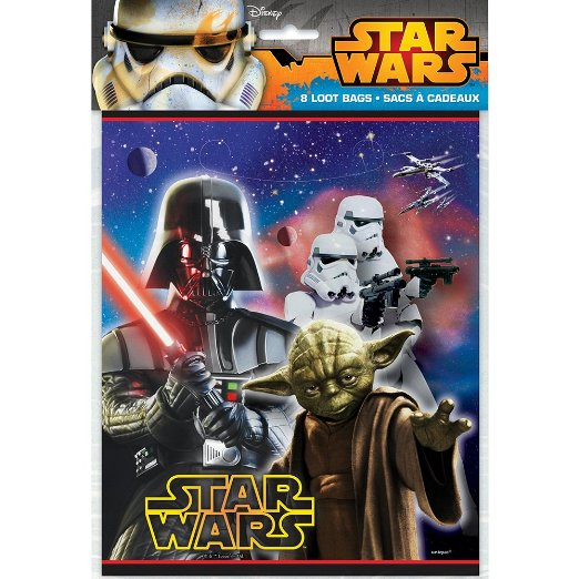Disneys Star Wars - Loot Bags 8 Ct
