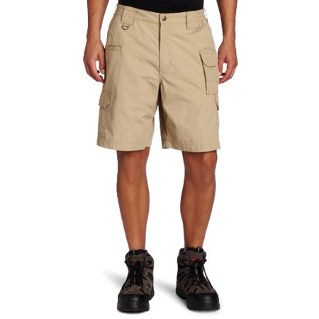 "Image of 5.11 Tactical Taclite Shorts, 9.5"" inseam, TDU Khaki, Size 36 511 73287-162 36"